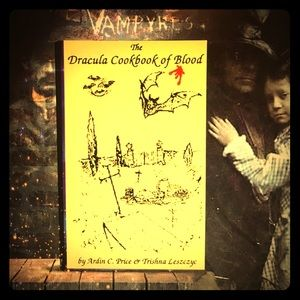 Dracula Cookbook Vampire Signed First Edition
